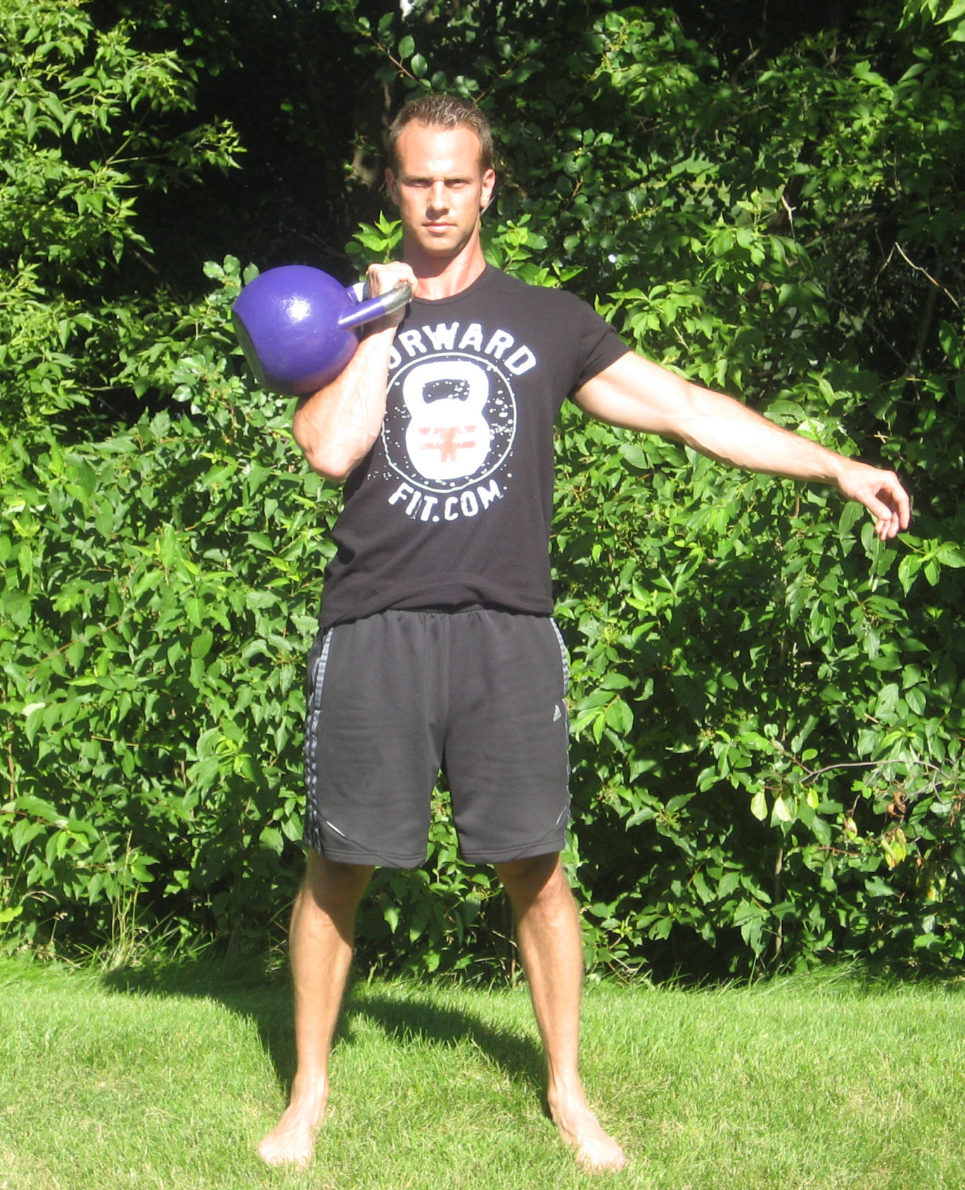 Kettlebell Shoulder Press 1