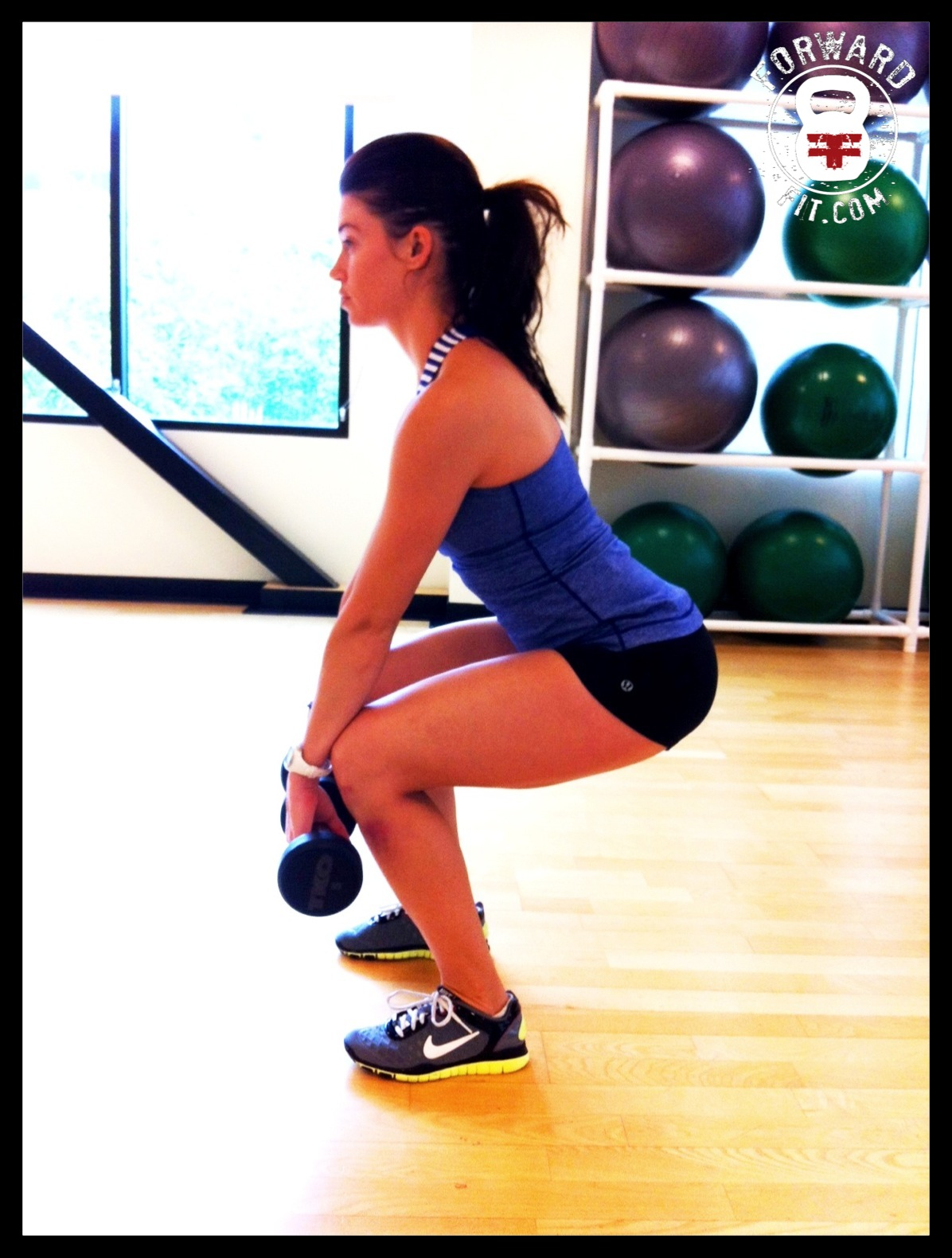 Squat Dumbbell 2