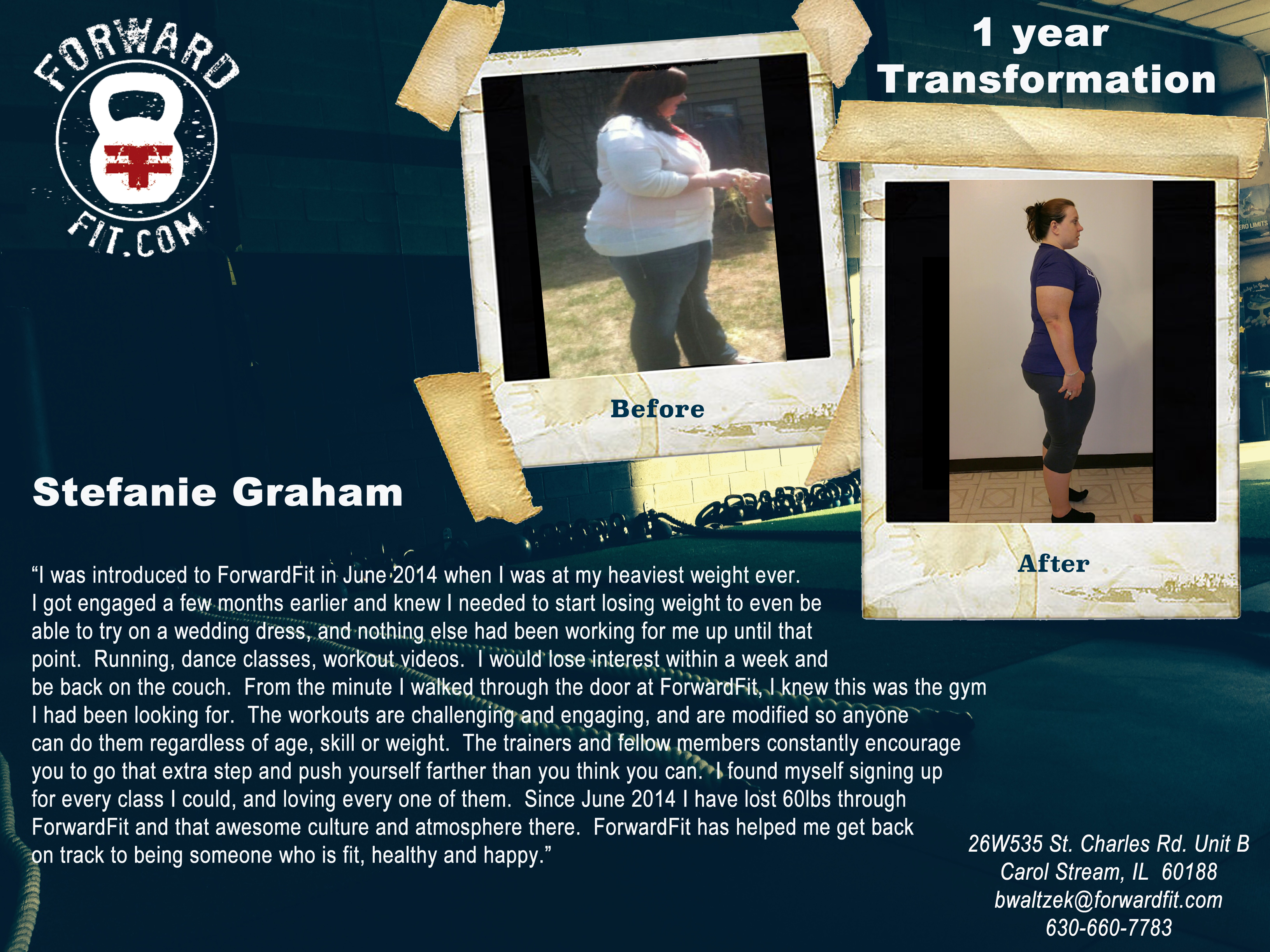 Stephanie Graham testimonial