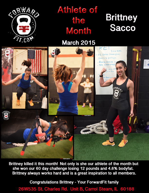 Athlete of the Month-March 2015